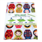 Highchair Mat/ High chair floor mat Splash Mat Babushka Dolls
