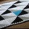 Crochet Geo Baby Blanket PDF Pattern