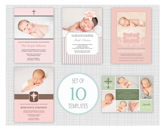 10 psd baptism and christening invitation templates mixed designs 10 psd baptism and christening invitation templates mixed designs stopboris Images