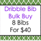 Bulk Bandana Dribble Bib - Pick Any 8
