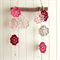 lottie | flower garland | crochet bunting room accessory