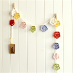 CUSTOM | crochet flower garland