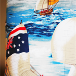 Australian Sailing Yacht Cushion