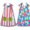 Girls Dress Pattern. PDF Sewing Pattern for Eva Dress, Reversible Tie Top Aline