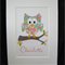 Personalised Handcrafted Owl Artwork