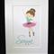 Personalised Handcrafted Ballerina Artwork