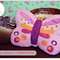 Butterfly Cushion PDF Pattern Novelty Pillow Sewing Pattern Bedroom Decor