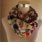 Feathers Infinity Scarf (Snood) Maternity. Breast Feeding /Nursing Cover.