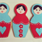 Russian Doll Cookies