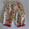 Girl Harem Pants - Pam Kitty Picnic Floral in Buttercup yellow