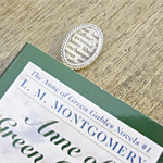 Anne of Green Gables Bookmark Anne Shirley Gilbert Blythe Literature Clip