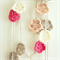 custom | crochet garland | flower nursery room decoration | vintage pretty