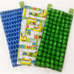 Washcloth TRIO set of three complimentary cloth