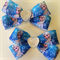 Disney Elsa Frozen Hair Bow Clip with Heart