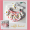 Coral Pink & Glitter Gold Ruffled Bloomers - baby, girl, peach, newborn