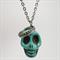 Skull & crown pendant: