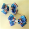 Disney ELSA FROZEN Princess Hair Bow Elastic Ties 2 pack
