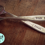 Choose your stamping - hand stamped vintage forks