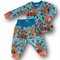 SIZE 0 Baby Sea Life Banded Pants Long Sleeve Tee SET