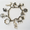 Silver 'Game of Thrones' Charm Bracelet