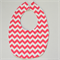 BUY 3 GET 4th FREE Pink Chevron Bib