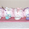 New Born Pink Caterpillar Nappy Cake - Baby Shower Gift