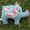 Eliza Plush Upcycled Elephant