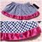 Cobalt blue spot skirt. Size 2-3