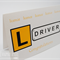 Congratulations Licence Card - L Plate Driver Plate Yellow - LIC001
