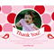 Printable Birthday Party Thank you Card - Polka Dot