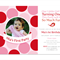 Printable Birthday Party Invitation - Polka Dot