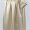 minicouture silk satin gown with sequin detail