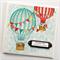 wedding card hot air balloons handmade