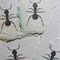 Handmade recycled paper....ant