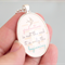 Graduation Gift quote pendant, inspirational