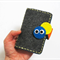 Caterpillar - Business Cards holder, cards wallet, pure wool felt, Perth