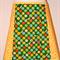 Green Echino & daisies skirt