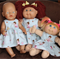 Belle & Boo dress - Baby Born or Cabbage Patch dolls
