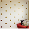 50 Polka Dots Wall stickers - Choose your Colour