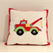 Tow Truck Boys Cushion
