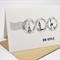 Bon Voyage Card - Postmark Travel - Black and White - BON003