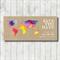 MY WORLD - SAVE THE DATE printable custom invitation