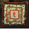 Sturt's Desert Pea cushion cover - 'Under the Australian Sun'