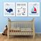 Custom Baby Birth Print Set of 3 Announcement Nursery Wall Art