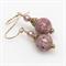 Pink Cloisonne Earrings