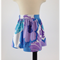 minicouture purple and blue floral skirt