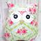 Handmade Owl - Tilda Rosealie Green