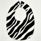 BUY 3 GET 4th FREE Zebra Print Bib