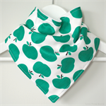 BUY 3 GET 4th FREE Green Apples Bandana Dribble Bib