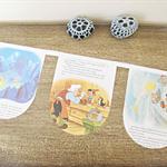 Pinocchio Bunting Little Golden Book Children Room Decoration Puppet Geppetto